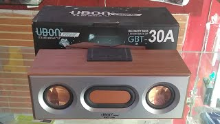 Ubon GBT-30A Bluetooth Speaker: Feature and Quick Review (Hindi) (Live Video)