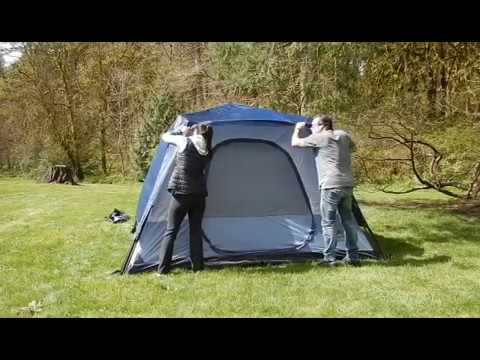 6 Person Rapid Tent Setup