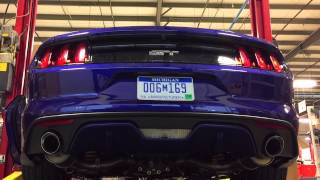 2015 ROUSH V8 Axle-back Mustang Exhaust