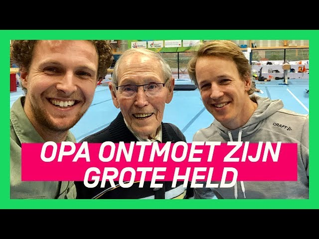 Opa traint Epke Zonderland | OP AVONTUUR MET DE OPA VAN TIM #8