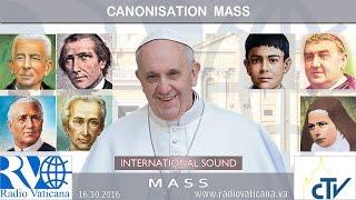 Canonisation Mass