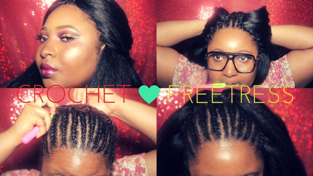 FREETRESS 3X PRE LOOP YAKY CROCHET ON NATURAL HAIR 2017