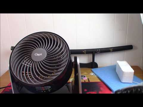 Unboxing And Review Of The Ozeri Brezza III Dual Oscillating Desk Fan With Remote