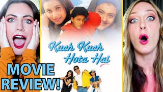 KUCH KUCH HOTA HAI | Shah Rukh Khan | Kajol | Rani Mukerji | Movie Review by Chloe & Becky Zak!