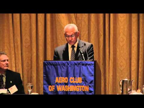 NASA Administrator Speaks at Aero Club Luncheon