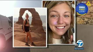 Video shows Gabby Petito's police encounter she went missing; Boyfriend a person of interest   ABC7
