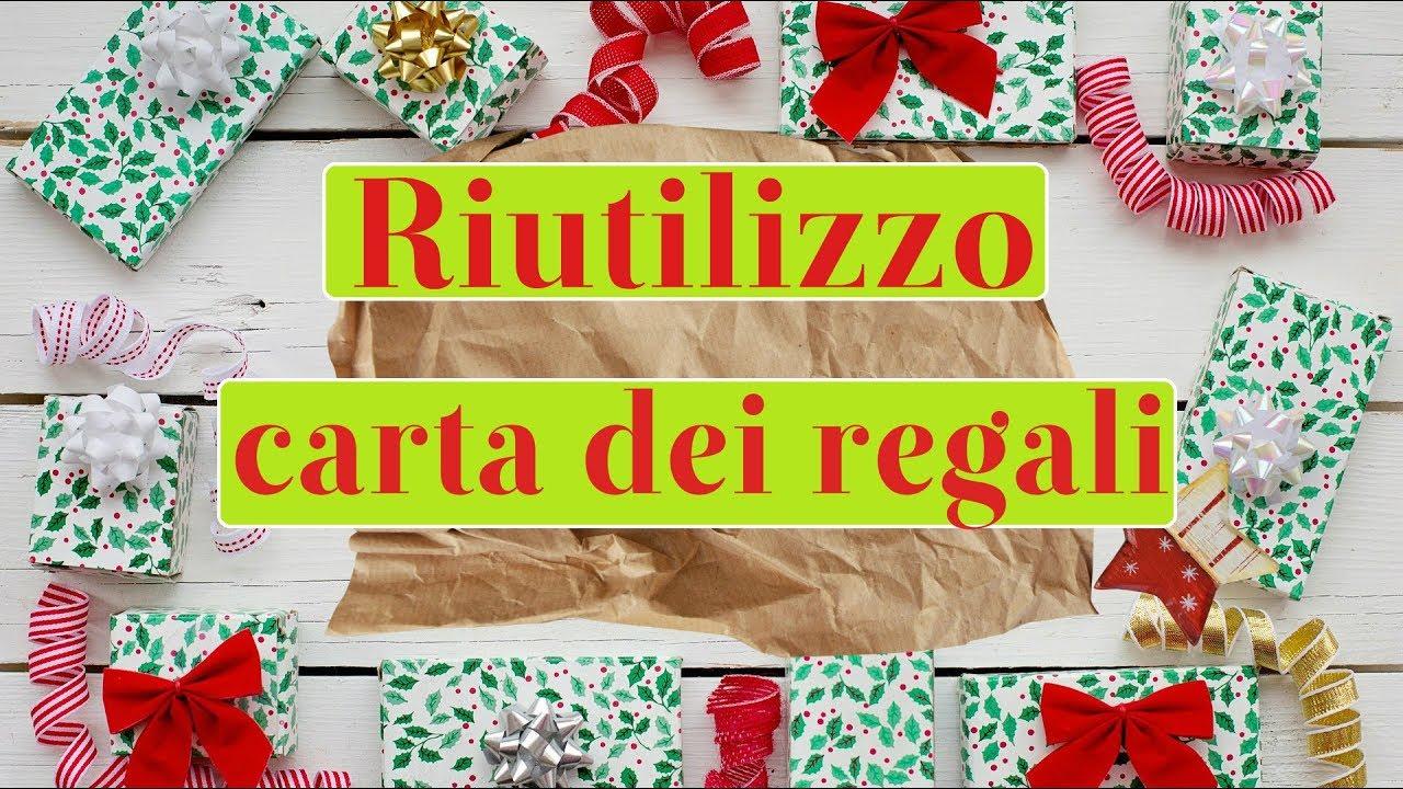 Regali Di Natale Riciclo Creativo.Come Riutilizzare La Carta Dei Regali Di Natale Riciclo Creativo