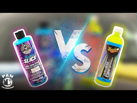 Meguiar's Hybrid Ceramic Liquid Wax VS Chemical Guys HydroSlick !!!