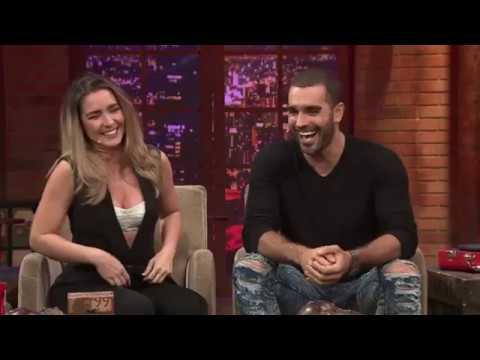 Ariadne Díaz y Marcus Ornellas en Miembros Al Aire 31-08-2017