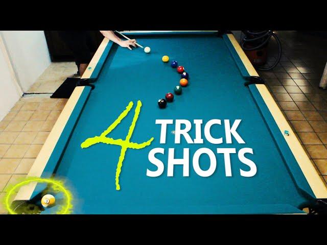 4 Pool Trick Shots: Volume 21