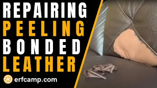 How To Repair A Peeling Bonded Leather Sofa