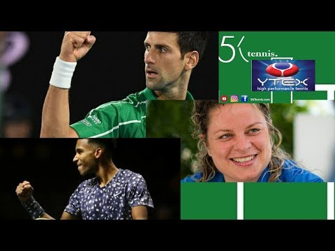 Kim Clijsters Return? Is Novak Djokovic ALREADY the Best Tennis Player Ever? Felix Auger Aliassime?