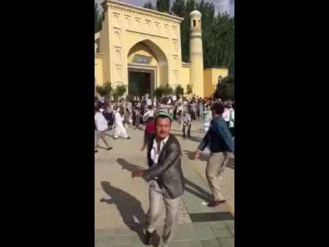 Kashgar Heitgah | Uyghur Sama | 2016-Yil Roza Heit | روزاھېيىت | قەشقەر ھېيىتگاھ | ساما
