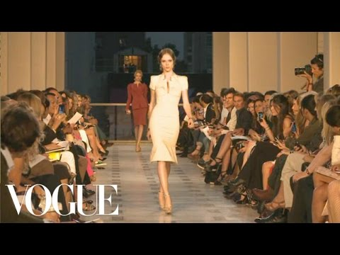 Zac Posen Ready to Wear Spring 2012 Vogue Fashion Week Runway Show