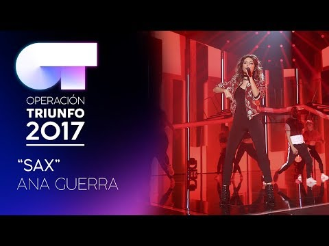 SAX - Ana Guerra    OT 2017   Gala 8 thumbnail