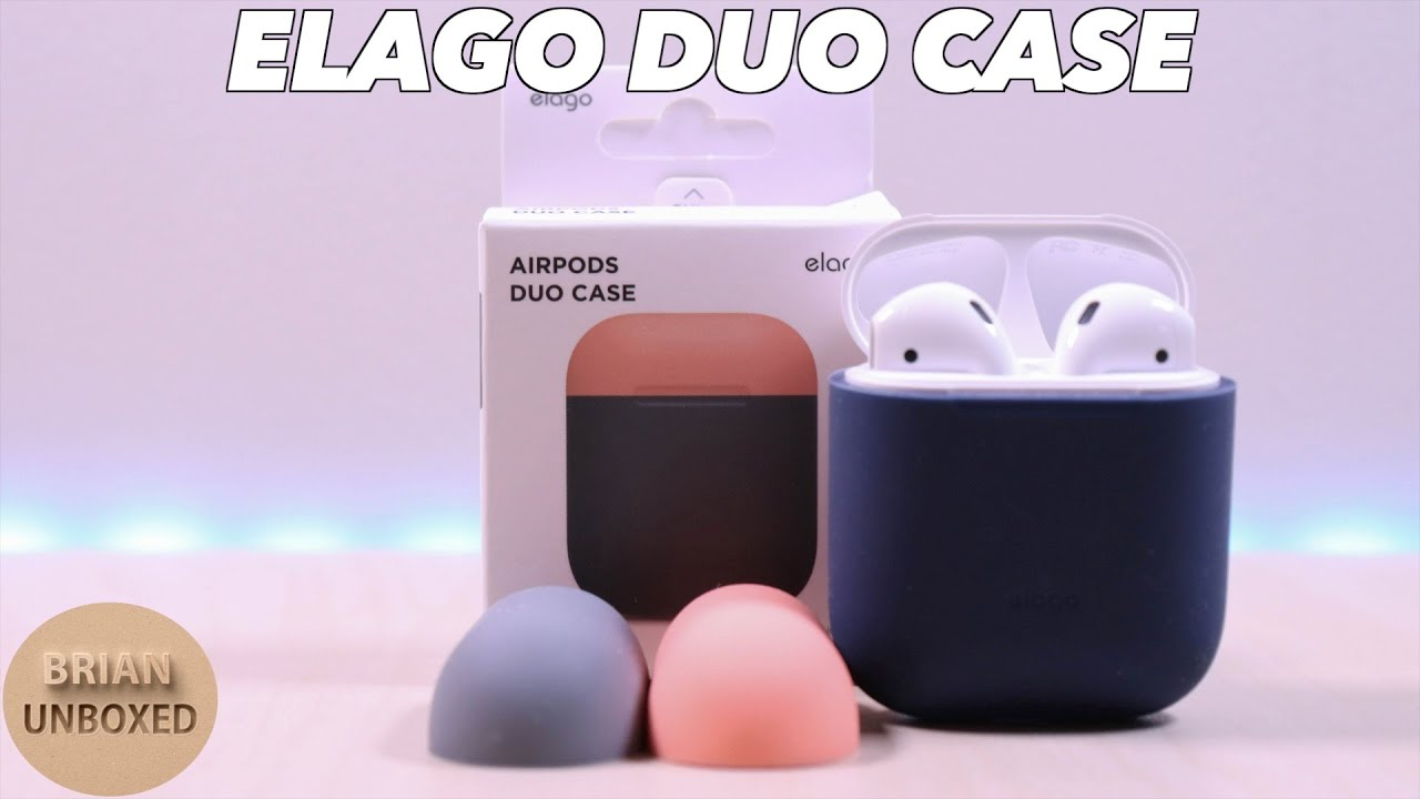 quality design a3aa6 a0fb1 Elago Duo Case - Protect Your Apple AirPods