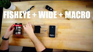 Объективы Fisheye Макро и Широкоугольный для iPhone(, 2015-06-24T11:00:59.000Z)