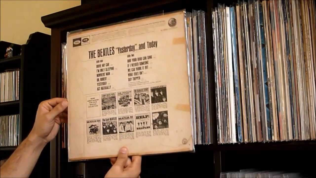 My Vinyl Collection 1 Beatles Part 1 Youtube
