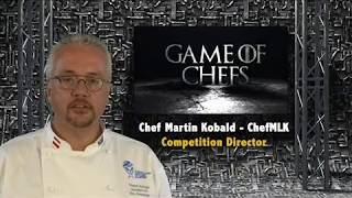 What can you bring with you to compete in the Game of Chefs