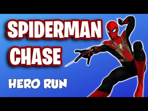 Download Spiderman Chase - Brain Break // Super Hero Movement Activity
