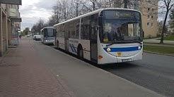 Amazing Scania Lahti Scala Kuopion Liikenne 104 ZF Ecomat, line 5 Pyörönkaari-Keskusta in Kuopio