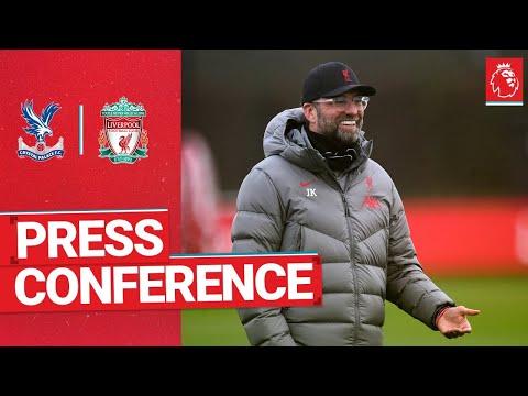 Jürgen Klopp's pre-match press conference   Crystal Palace