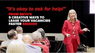 What do you do when you can't lease space? It's ok to ask for help: Beth Azor at ICSC Las Vegas