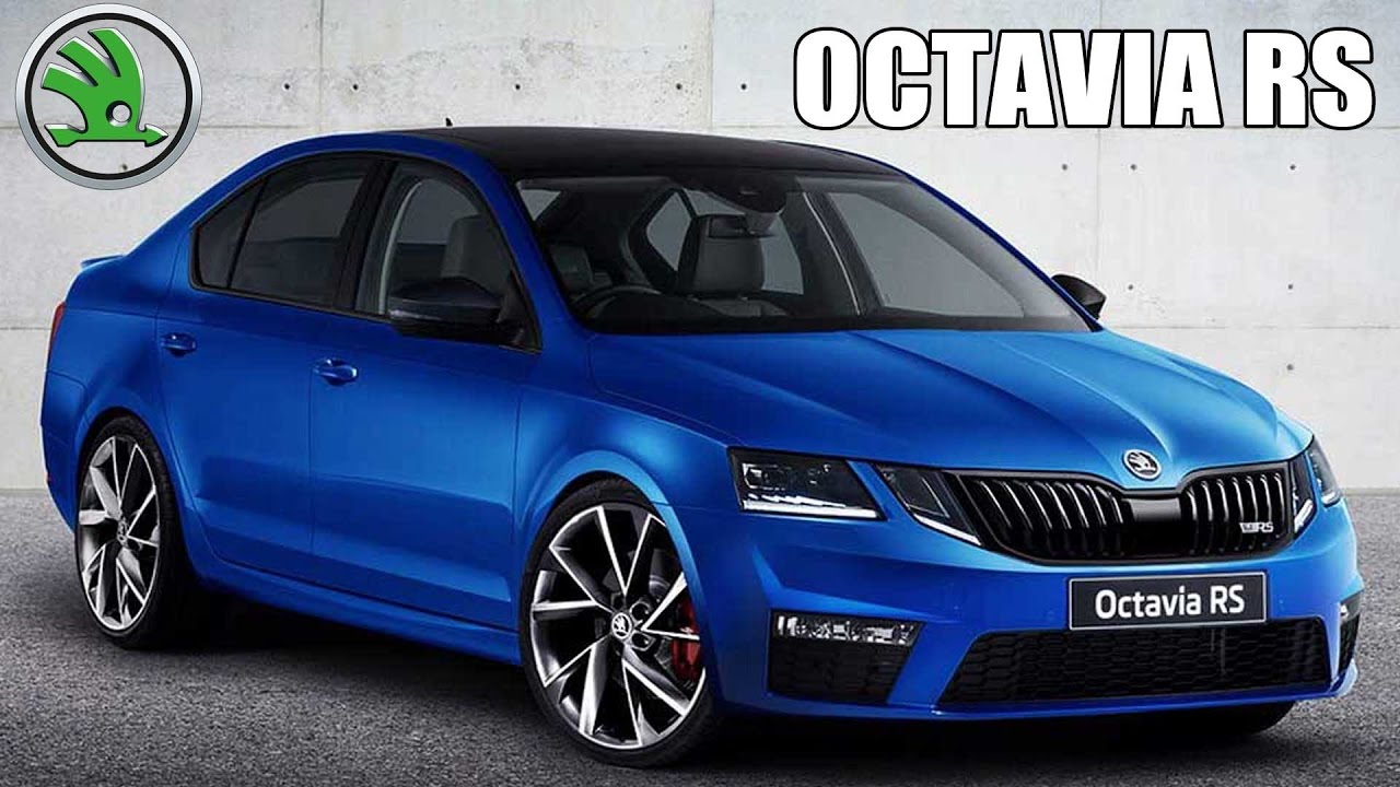 india bound 2017 skoda octavia rs facelift unveiled youtube. Black Bedroom Furniture Sets. Home Design Ideas
