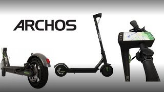 Archos launches first scooter with Android Named Citee Connect has a multimedia board.