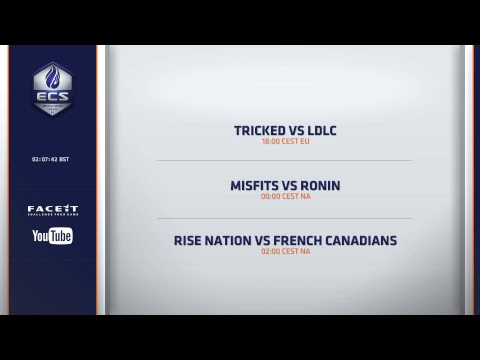 French Canadians vs Splyce - ECS CCC with @SquidCS