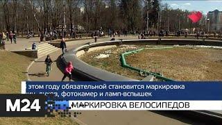 """""""Москва и мир"""": """"Здоровая Москва"""" и маркировка велосипедов - Москва 24"""