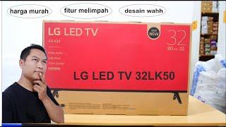 LG LED TV 32LK50 32 inc desain mewah fitur melimpah harga murah