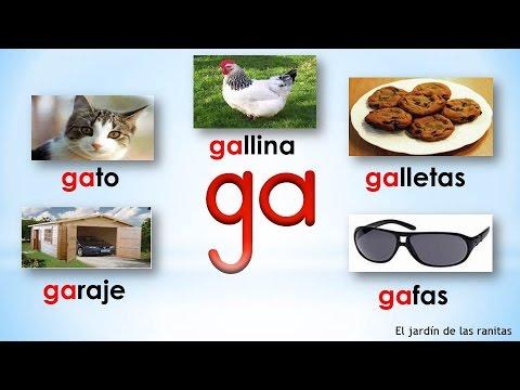 16 s labas ga go gu syllables with gg youtube for Cose con la g