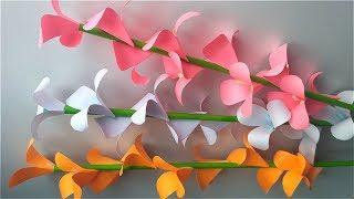 як зробити об'ємні квіти з паперу своїми руками схеми шаблони