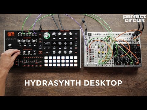 ASM Hydrasynth Desktop Standalone And With Eurorack