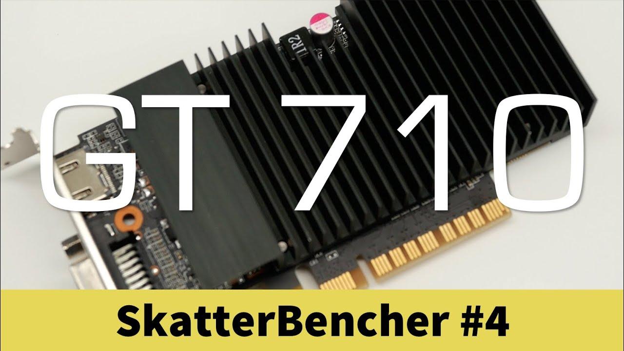 SkatterBencher #4: GeForce GT 710 Overclocking