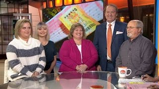 Powerball winners Tennessee couple claims they won the jackpot on TODAY Show