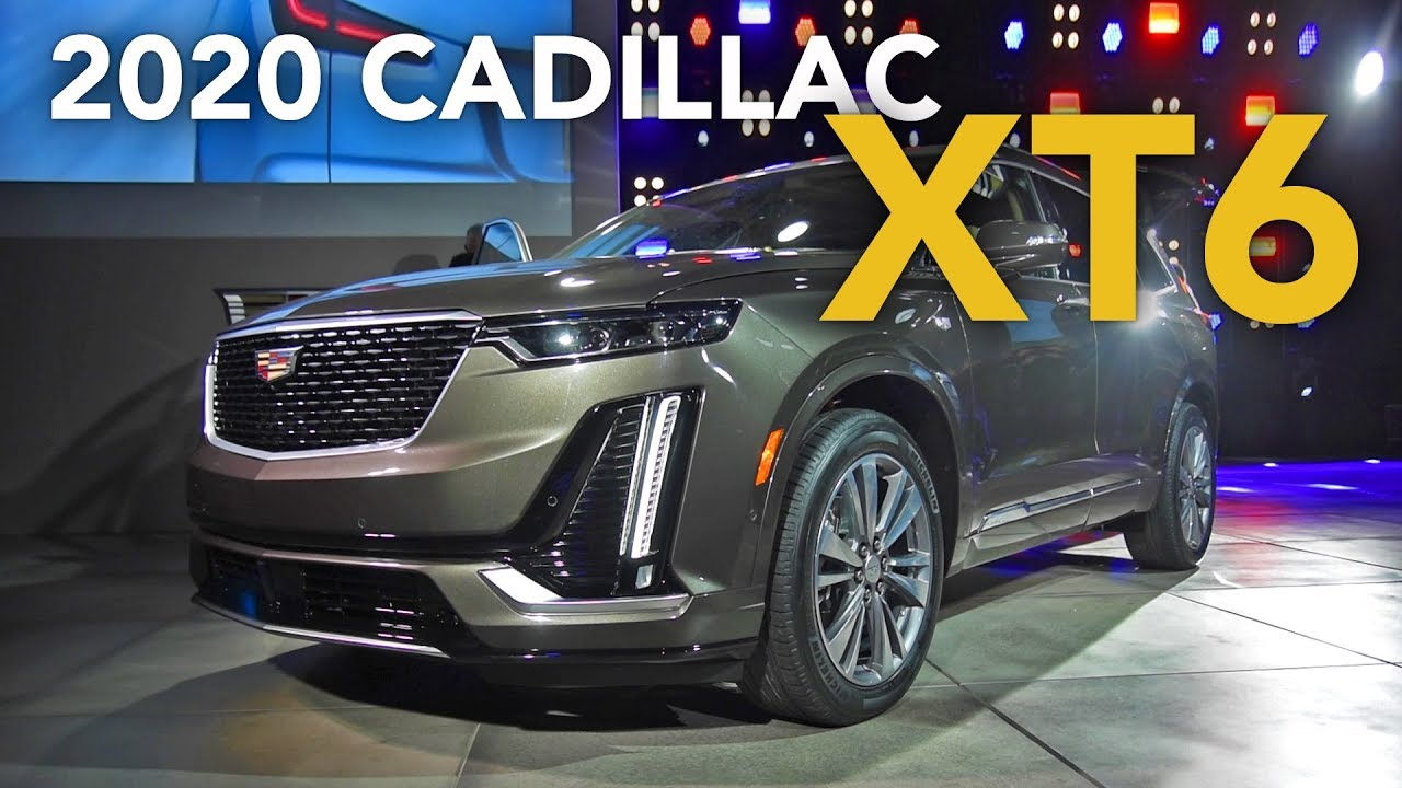2020 Cadillac Xt6 First Look 2019 Detroit Auto Show Youtube