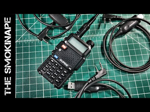 Baofeng Programming Cables Explained - HAM Radio - TheSmokinApe