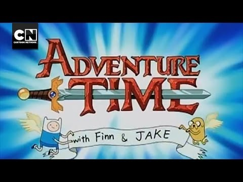 Adventure Time Title Sequence | Cartoon Network