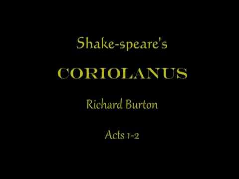 Shake-speare: Coriolanus Acts 1-2