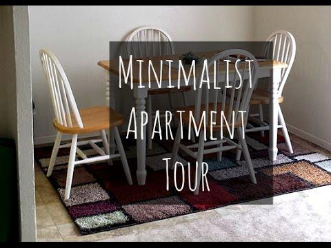 minimalist apartment tour 2015 youtube