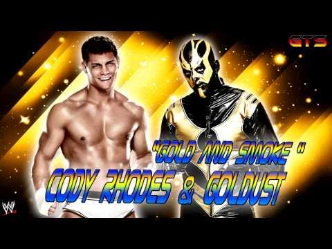 "2013: Goldust & Cody Rhodes - WWE Theme Song - ""Gold and Smoke"" [HD]"