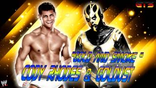 "2013: Goldust & Cody Rhodes - WWE Theme Song - ""Gold and Smoke"" [HD]"