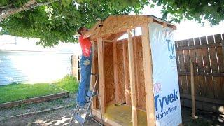 DIY Lawn & Garden Storage Shed: Part 1 | Darbin Orvar