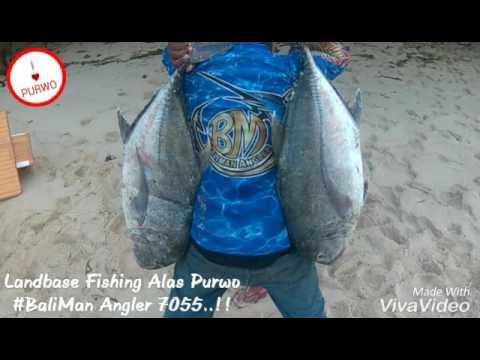 Landbase Fishing at Alas Purwo - Banyuwangi - YouTube