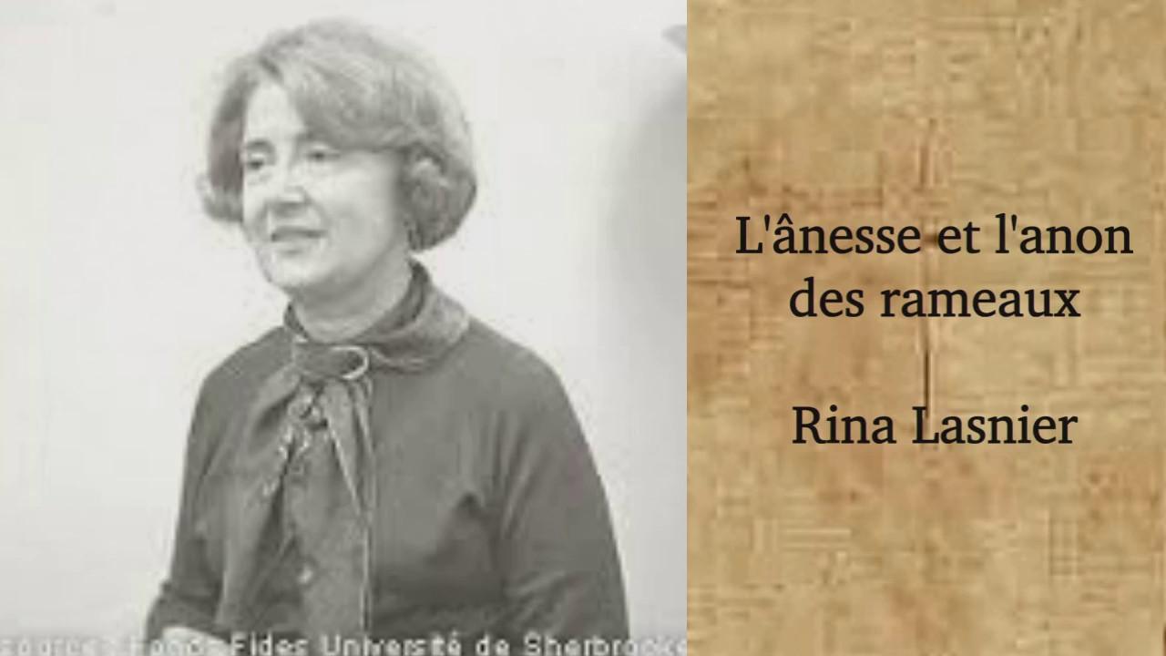Lânesse Et Lanon Des Rameaux Rina Lasnier