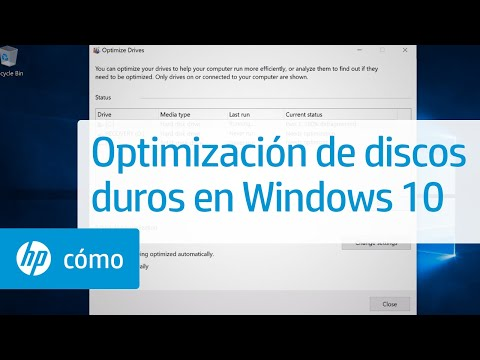 Optimización de discos duros en Windows 10 | HP Computers | HP