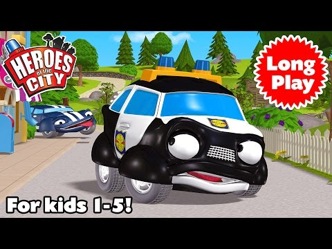 Heroes of the City - Preschool Animation - Non-Stop! Long Play - Bundle 05