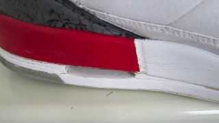 Sneaker Tips Episode 3 - How To Prevent Paint Cracking on Jordans / Nike Shoes!